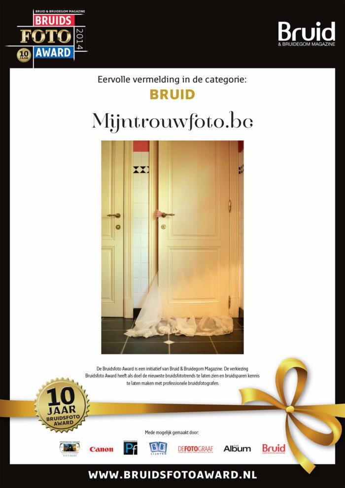 Bruidsfoto Award Mijntrouwfoto