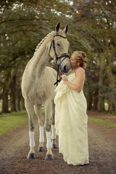 009 Bride And Horse